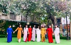 Không khí hưởng ứng Tuần lễ áo dài 2021 tại Thủ đô Hà Nội