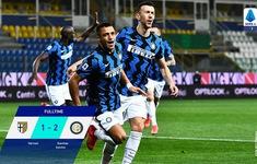 Parma 1-2 Inter Milan: Alexis tỏa sáng, Inter vững ngôi đầu