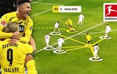 Cặp bài trùng Sancho - Haaland: Chìa khóa chiến thắng của Dortmund