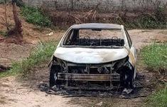 Tạm giữ đối tượng chém người trọng thương, đốt xe ô tô