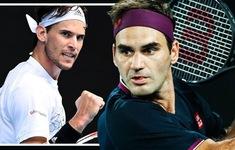 Qatar mở rộng: Roger Federer và Dominic Thiem là 2 hạt giống hàng đầu