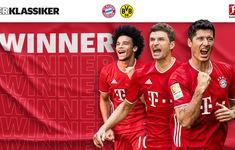 Bayern Munich ngược dòng ngoạn mục trước Dortmund