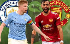 TRỰC TIẾP BÓNG ĐÁ, Man City - Man Utd: Derby rực lửa (Vòng 28 Ngoại hạng Anh)