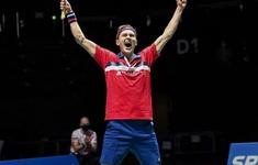 Viktor Axelsen vô địch Giải cầu lông Thuỵ Sĩ mở rộng 2021