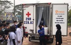 Vaccine ngừa COVID-19 đã đến Bệnh viện Bệnh Nhiệt đới Trung ương