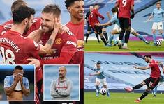 Man Utd ngắt mạch 21 trận thắng của Man City ngay trên Etihad