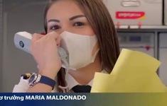 Một ngày bay bình thường của nữ cơ trưởng Maria Maldonado