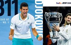 Novak Djokovic xô đổ kỷ lục của Roger Federer