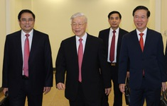 ẢNH: Ngày khai mạc Hội nghị lần thứ 2 Ban Chấp hành Trung ương Đảng khóa XIII