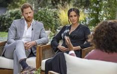 """17 triệu người xem cuộc phỏng vấn hoàng tử Harry và vợ """"tố"""" gia đình hoàng gia"""