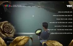 Thay đoạn kết cuối phim, Hướng dương ngược nắng lộ thêm tình tiết: Kiên cầm bó hoa đen đứng cạnh bờ sông, Diễm Loan được người tình cầu hôn