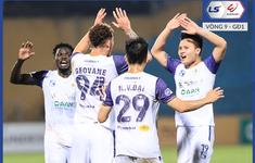 CẬP NHẬT Kết quả, BXH LS V.League 1-2021 (ngày 11/4): CLB Hà Nội vươn lên vị trí thứ 5