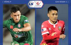 TRỰC TIẾP BÓNG ĐÁ CLB Sài Gòn 0–0 Hồng Lĩnh Hà Tĩnh: Hiệp một