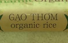 Xây dựng thương hiệu gạo hữu cơ