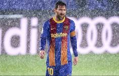 Messi tịt ngòi trong 7 trận El Clasico liên tiếp