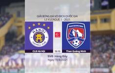 VIDEO Highlights: CLB Hà Nội 4-0 Than Quảng Ninh (Vòng 9 LS V.League 1-2021)