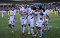Kết quả, BXH vòng 9 LS V.League 1-2021: Thắng kịch tính Nam Định, HAGL tiếp tục giữ vững ngôi đầu