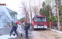 Kon Tum: Tăng cường diễn tập phòng cháy chữa cháy trong mùa khô
