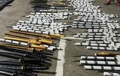 Đồng Nai phát hiện kho vũ khí cực lớn trong nhà đối tượng ma túy