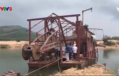Phú Yên: Xử lý Công ty vi phạm trong khai thác cát trên sông Ba