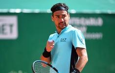 Fabio Fognini vượt qua Kecmanovic để tiến vào vòng 2 Monte Carlo Masters 2021