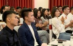 Quang Hải: Đi học cũng giống như đi thi đấu