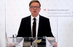 Bộ trưởng Y tế Áo từ chức vì kiệt sức sau khi điều hành phòng chống dịch