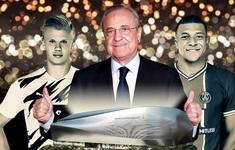 Real Madrid và kế hoạch 4 năm tiếp theo với  chủ tịch Florentino Perez: Mua cả Haaland lẫn Mbappe?