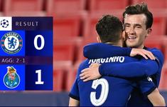 Thua Porto ở lượt về, Chelsea vẫn giành quyền vào bán kết Champions League