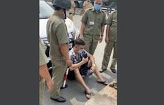 Bắt tạm giam Lê Chí Thành về tội chống người thi hành công vụ