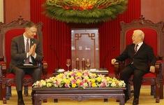 Tổng Bí thư Nguyễn Phú Trọng tiếp Đại sứ Hoa Kỳ