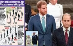 Hoàng tử William và Harry sẽ không đứng cùng nhau trong tang lễ ông nội