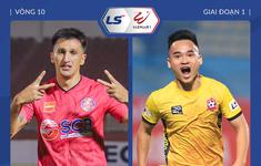 TRỰC TIẾP BÓNG ĐÁ CLB Sài Gòn - CLB Hải Phòng (Vòng 10 V.League 2021)
