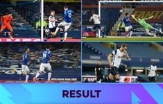 Everton 2-2 Tottenham: Chia điểm, cùng nhau rời xa tốp 4 Ngoại hạng Anh