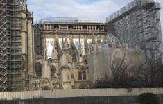 Việc xây dựng lại Nhà thờ Đức Bà có thể mất tới 20 năm