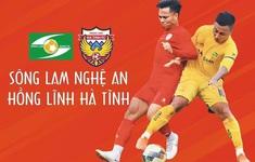 TRỰC TIẾP BÓNG ĐÁ Sông Lam Nghệ An – Hồng Lĩnh Hà Tĩnh: 17h00 hôm nay (17/4) trên VTV5, VTV6