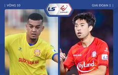 TRỰC TIẾP BÓNG ĐÁ: CLB Nam Định 1-0 CLB TP Hồ Chí Minh: Hiệp 1 kết thúc