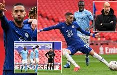 Loại Man City, Chelsea hiên ngang vào chung kết FA Cup