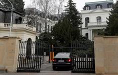 CH Czech trục xuất tất cả nhân viên Đại sứ quán Nga tại Praha