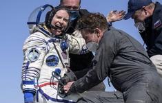 Ba phi hành gia trở về Trái đất an toàn