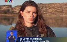 Cô gái Thụy Điển theo đuổi nghề săn hàu ngon nhất thế giới