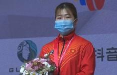 Lực sĩ Hoàng Thị Duyên đoạt HCĐ tại Giải cử tạ vô địch châu Á