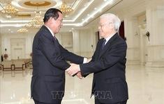 Tổng Bí thư gửi điện thăm hỏi Campuchia