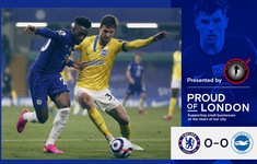 Chelsea 0-0 Brighton: Chia điểm nhạt nhòa, The Blues vẫn góp mặt trong Top 4