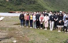 Cao Bằng: Liên tiếp phát hiện 3 vụ, tạm giữ 41 người nhập cảnh trái phép vào Việt Nam