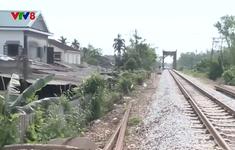 Khó xử lý vi phạm hành lang ATGT đường sắt