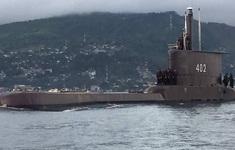 Tàu ngầm Indonesia mất tích có thể đang chìm ở độ sâu 700m
