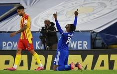 Leicester City giành trọn 3 điểm trên sân nhà