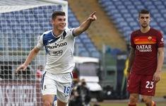 Cầm hòa Roma, Atalanta vượt Juventus, chiếm vị trí thứ 3 trên BXH