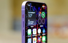 Cận cảnh chiếc iPhone 12 màu tím mà Apple vừa ra mắt